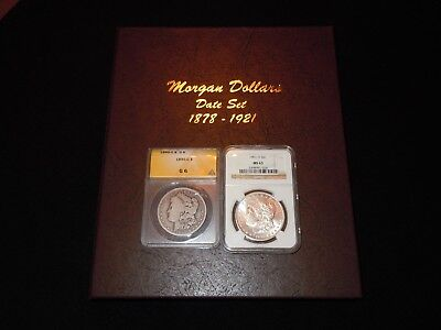"COMPLETE MORGAN  DOLLAR  DATE  SET / COLLECTION  1878  -  1921   ""  32 Coins  """