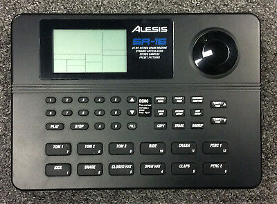 alesis sr 16 drum machine manual