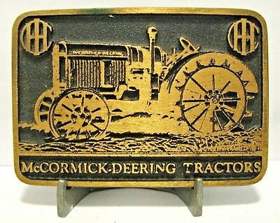 IH International McCormick Deering 22-36 ? Tractor Brass Belt Buckle