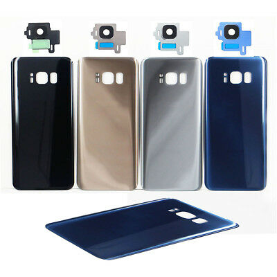 For Samsung Galaxy S8 & S8 Plus Back Glass Cover Battery Door Replacement Repair