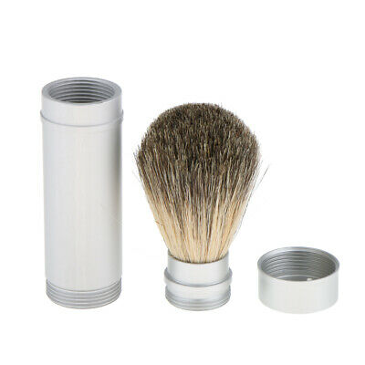Shaving Brush Soap Cream Shave Brush in Tube for Men PERFECT TRAVEL KIT