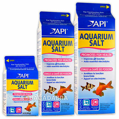 Api Aquarium Salt Fish Health Stress Reducing New Aquarium Water Changing Tank