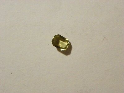 Chrysoberyl  1.54 Carats 6.72x8.71x3.57 MM. Octagon Faceted