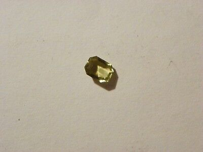 Chrysoberyl  1.54 Carats 6.72x8.71x3.57 MM. Octagon Slight Natural Inclusions