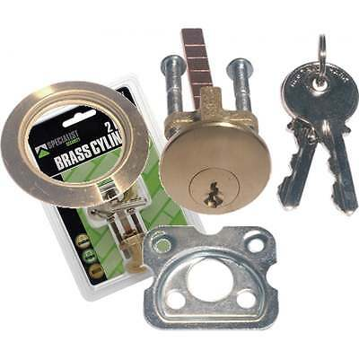 Rim Cylinder Lock Barrel Night-latch Front Door Rear Brass Fits Yale Thumb Turn