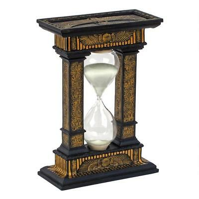 Hourglass Sand Timer Sandglass Ancient Egypt Watch Clock Egyptian Decor