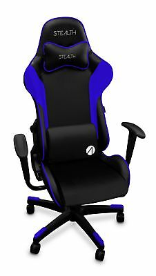 Stealth Challenger Series Adjustable Gaming Chair Seat - Blue and Black
