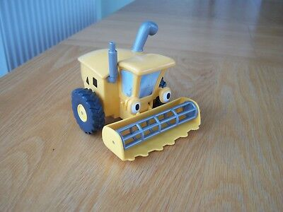 Rare Large Plastic Wheezy The Combine Harvester From Tractor Tom Series