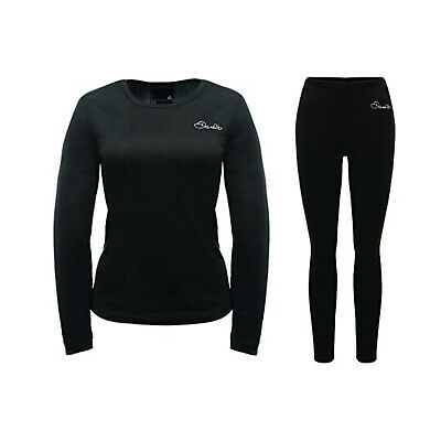 Dare 2B - Insulate Womans Base Layer Thermal Set - Sizes 6-18 - Black