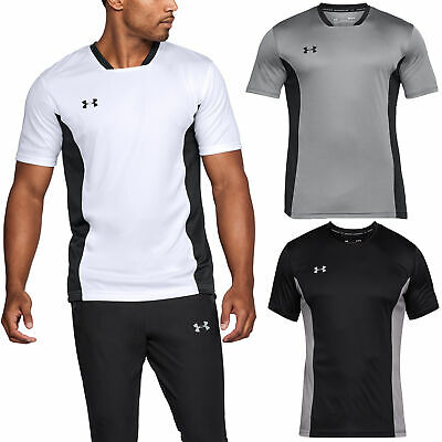Under Armour Mens 2018 Challenger II Training Top Gym Training Sports T Shirt
