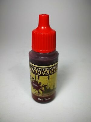 Ink / Tinte - Red Tone - The Army Painter Warpaints - Quickshand - 18 ml