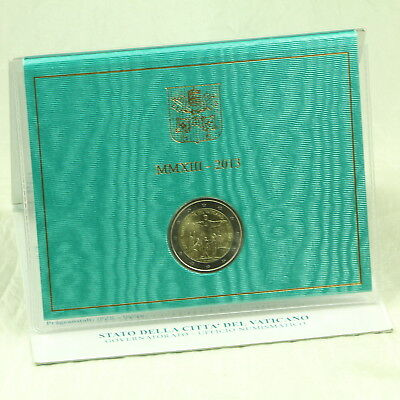 2 Euro Münze Coin Vatikan Vatican State Weltjugendtag World Youth Day 2013 Rio