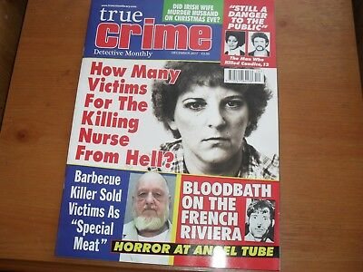 True Crime Detective Monthly Dec 2017 NEW