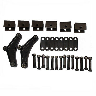 Trailer Leaf Spring Hanger Kit for Double Eye Springs Tandem Axle Suspension