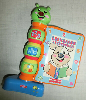 Fisher Price - Lernspass Liederbuch ABC Zahlen Formen