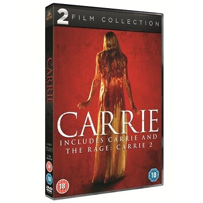 Carrie 1 + Carrie 2 The Rage Region 4 New DVD (2 Discs)