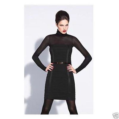 Wolford Opulent Skirt (Dress) 2 in1   Color: Black  Size: Small  58097