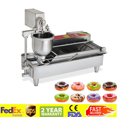 ** Commercial Automatic GAS&Electric Donut Making Machine Donut Fryer USA FAST