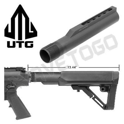 UTG PRO 6 Position Mil-spec Stock Receiver Extension Tube .308 Aluminum Black