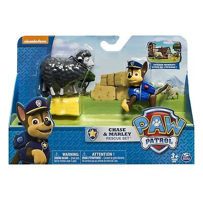 PAW PATROL Set Figure CHASE and MARLEY Rescue Playset SPIN MASTER Figures ACTION