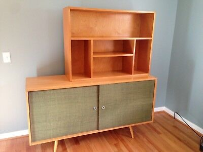 Mid Century Modern Cabinet Credenza Paul McCobb Planner Group By Winchendon