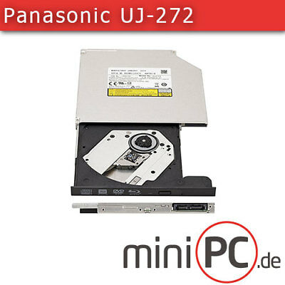 Panasonic UJ-272 SLIM-LINE SATA DVD+-R/RW Blu-ray XL Brenner [9.5mm]