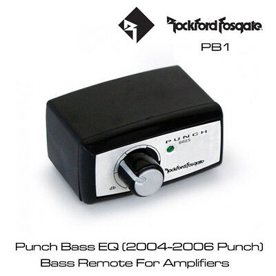 Rockford Fosgate Punch PB1 - Bass Remote EQ with 0dB to +18dB bass boost at 45Hz