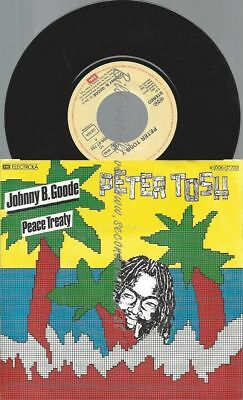 "7""  Peter Tosh ‎– Johnny B. Goode ////"