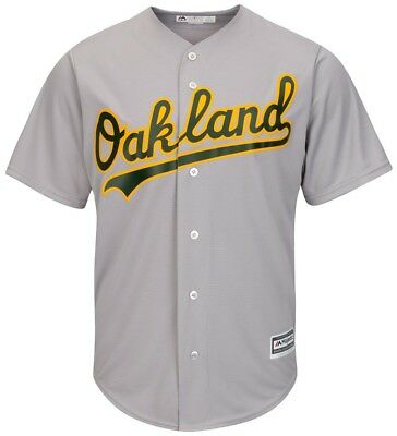 Majestic Athletic Oakland Athletics MLB Replica Jersey Grey Baseball Trikot