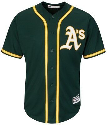 Majestic Athletic Oakland Athletics MLB Replica Jersey Green Baseball Trikot