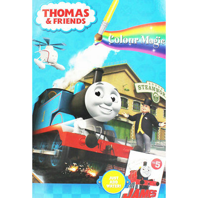 Thomas And Friends Magic Painting Book (Paperback), Children's Books, Brand New