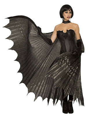 Adult Theatrical Black Full Size Bat Wings Fancy Halloween Costume Accessory