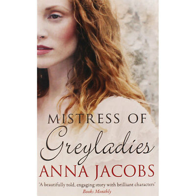 Mistress Of Greyladies by Anna Jacobs (Paperback), Fiction Books, Brand New