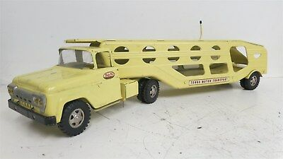 Vintage 1960s Tonka Toys Truck and Motor Transport