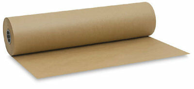 Kraft Wrapping Paper, 42in. x 320ft 120# Natural