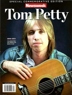 NEWSWEEK Special Edition Magazine TOM PETTY 1950 2017 Commemorative Issue