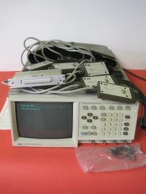 HP 8175A Digital Signal Generator Option 1 x 005 w/ 5 Pods & SCXI-1300 Tested