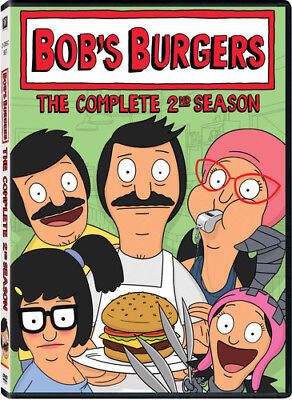 Bob's Burgers Season 2 Complete 2nd TV Series Second Bobs New Region 4 2xDVD