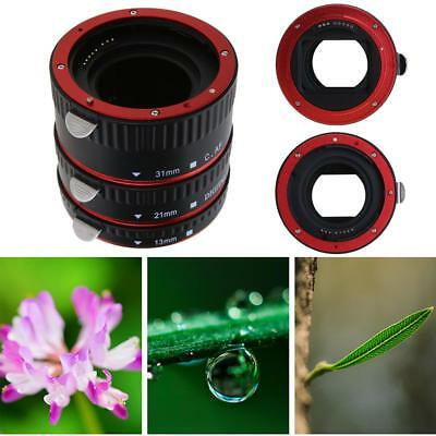 Automatic Focus AF Macro Extension Tube Ring Mount Bayonet for CANON EF-S Lens