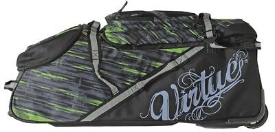 Virtue High Roller Gear Bag / Reisetasche - lime/black