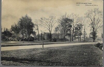 Rppc, Wade Park, Cleveland, Ohio, Oh, Not Posted