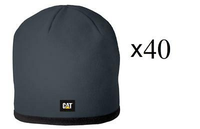 Warehouse Clearance Job lot Wholesale CAT Fleece beanie Grey New with Tags X40