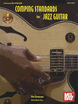 Comping Standards for Jazz Guitar TAB Music Book/CD by Jim Ferguson
