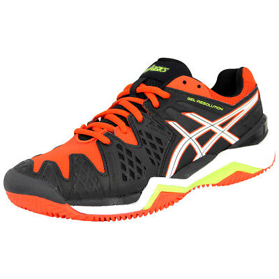 Asics GEL RESOLUTION 6  Herren Tennisschuhe Neu
