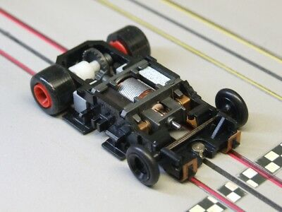 Tyco HO Slot Car - 440x2 Wde-Pan STAGE III Chassis 3.5 Ohm Pro-8™ w/ Razor Front