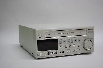 Mitsubishi MD3000 HS-MD3000UA Ultrasound Medical Cassette VHS Video Recorder