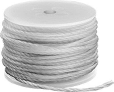 Sewing Awl Replacement Spool of White Polyester Thread - 40 ft