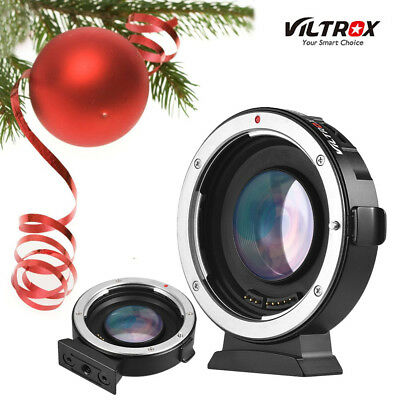 Viltrox Ef-M2 0.71X Electronic Adapter Booster For Canon Ef Lens To M43 Mft Dslr