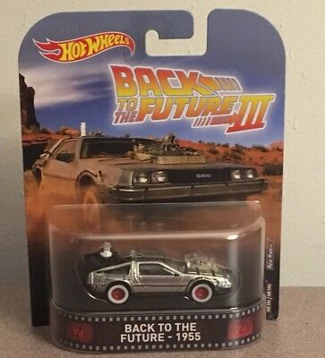 Hot Wheels Retro Entertainment Back To The Future lll 1955 Real Riders Die-Cast