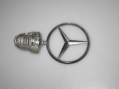 Vintage Mercedes Benz Hood Ornament -  Used Tilts